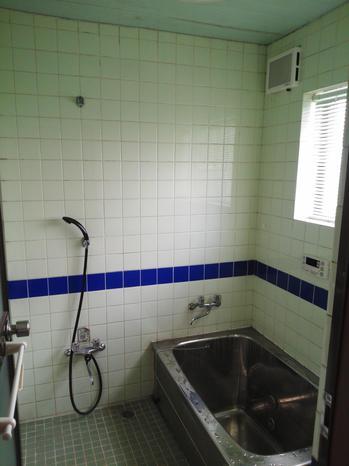 浴室改修工事施工前